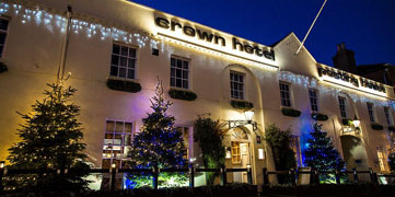Enjoy christmas with the crown hotel