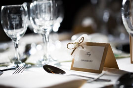 Take a look at our wedding packages