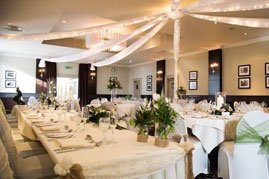 The White Rose Occasions create the ultimate wedding decor