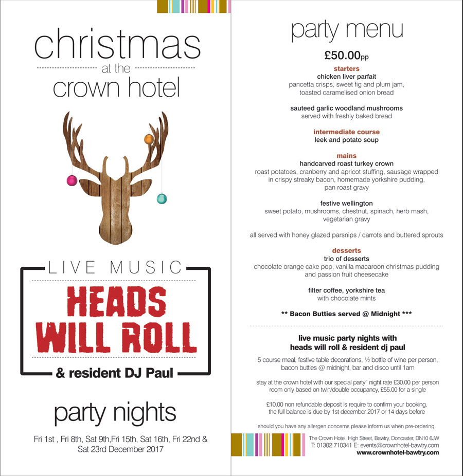 christmas party nights with live music