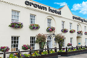 Experience a humanist ceremony at the crown hotel