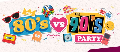 80's vs 90's Party Night