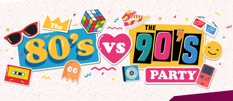 80's vs 90's Party Night