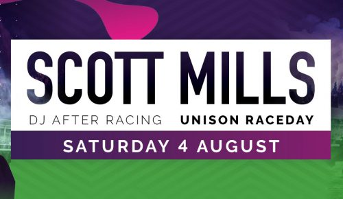 Unison Raceday with Scott Mills DJ Set