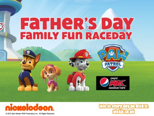 Father's Day Family Fun Raceday with PAW Patrol