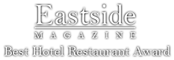 Eastside Magazine Best Hotel Restaurant Award Doncaster